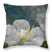 Apple Blossom Photoart Vi Throw Pillow