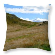 Archer's Seat  Throw Pillow