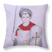 Armor Of God Throw Pillow