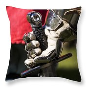 Armory At Hand Throw Pillow