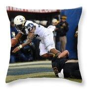 Army Versus Navy Throw Pillow