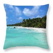Arno Atoll Throw Pillow