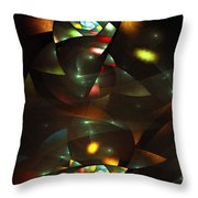 Art Deco Feeling Throw Pillow