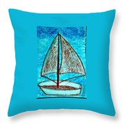 Art Therapy 146 Throw Pillow