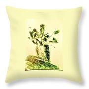 Art Therapy 179 Throw Pillow