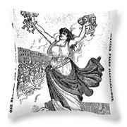 Art Young (1866-1943) Throw Pillow