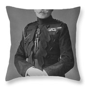 Arthur, Duke Of Connaught (1850-1942) Throw Pillow