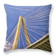 Arthur Ravenel Jr. Bridge 2 Throw Pillow