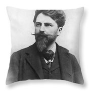 Arthur Schnitzler Throw Pillow