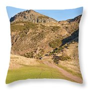 Arthur's Seat  Edinburgh  Scotland Throw Pillow