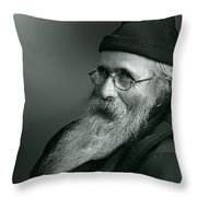 Artist At Ease Throw Pillow