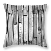 Artist Chalks Throw Pillow