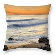 Artola Beach Throw Pillow