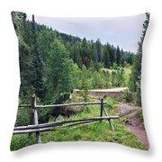 Aspen Trees In Vail - Colorado Throw Pillow
