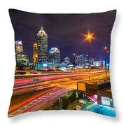 Atlanta - Georgia - Usa Throw Pillow