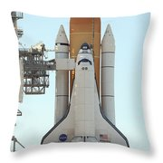 Atlantis Space Shuttle Throw Pillow