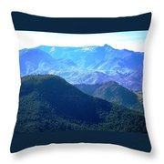 Atlas Mountains 13 Throw Pillow