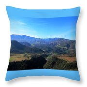 Atlas Mountains 15 Throw Pillow