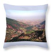 Atlas Mountains 18 Throw Pillow