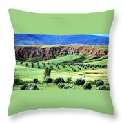 Atlas Mountains 2 Throw Pillow