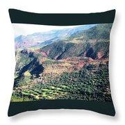 Atlas Mountains 4 Throw Pillow