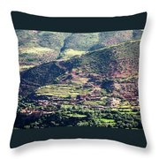 Atlas Mountains 5 Throw Pillow