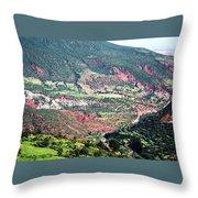 Atlas Mountains 6 Throw Pillow