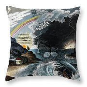 Atmospheric Effects 1846 Throw Pillow