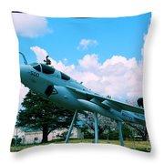 Atsugi Prowler N Throw Pillow