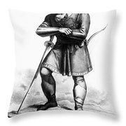 Attila (c406-453) Throw Pillow