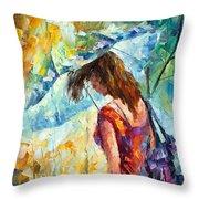 Aura Of Autumn 1 Throw Pillow