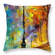 Aura Of Autumn 2 Throw Pillow