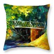 Aura Of Autumn 3 Throw Pillow