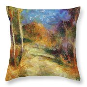 Autumn Colors Throw Pillow