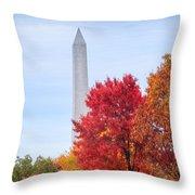 Upward - Autumn High Throw Pillow