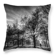 Autumn In London Throw Pillow