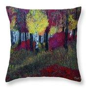Autumn Peak Throw Pillow