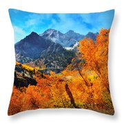 Autumns Glory Throw Pillow