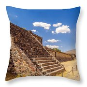 Avenue Of The Dead Throw Pillow