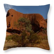 Ayers Rock Throw Pillow