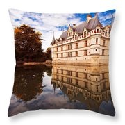 Azay Le Rideau / Loire Valley Throw Pillow