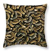 Bacteria, Sem Throw Pillow