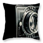Bakelite Vintage Camera Throw Pillow
