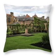 Bakewell Country Gardens - Bakewell Town - Peak District - England Throw Pillow