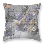 Baltimore Ravens Team Throw Pillow