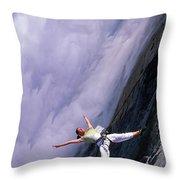 Bandaloop Dance Company, Yosemite Throw Pillow