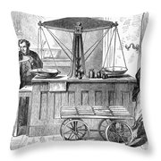 Bank Of England, 1872 Throw Pillow