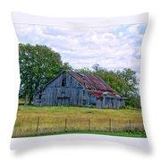 Barn 32 Throw Pillow