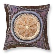 Baroque Church Cupola Dome Throw Pillow