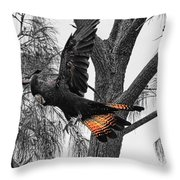Base Jumper Throw Pillow